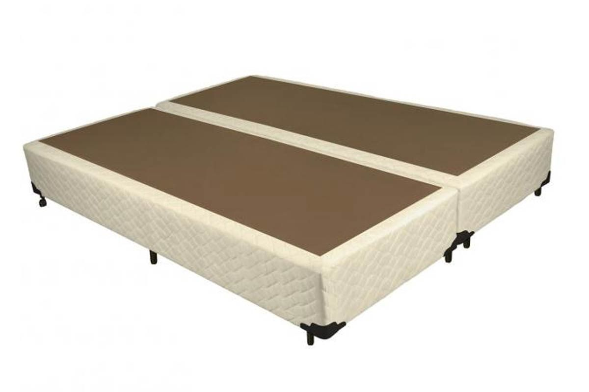 Cama Box Base Probel Tela MelCama Box Queen Size - 1,58x1,98x0,25 - Sem Colchão